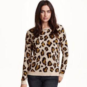 3/$20 H&M Leopard Print Sweater